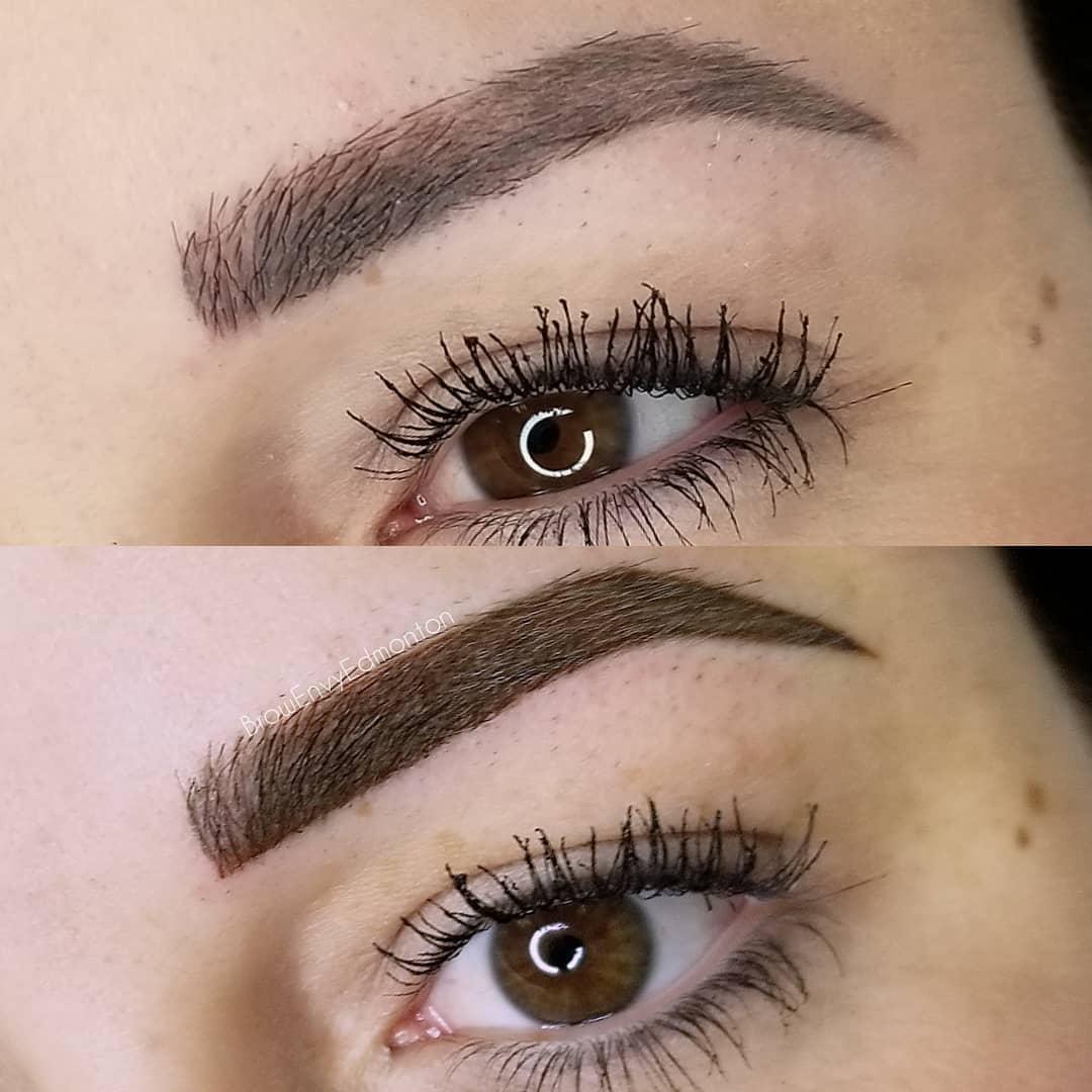 Eyebrow Tattoo Makeup Edmonton | Eyebrow Services Near Me